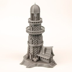 Download STL Medieval Lighthouse, turugsan