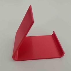 Download free STL file Just a phone stand • 3D printer template, phantom1phantom1