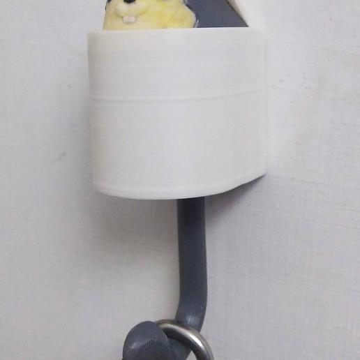Download STL file Pop up squirrel hook • 3D printable design, urdsclr