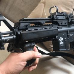 Sem título.png Télécharger fichier 3MF Elévateur de rails 22mm style G36 • Design à imprimer en 3D, userpaulogarcia