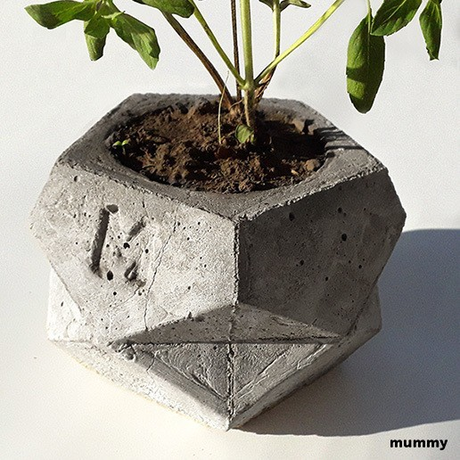 Télécharger objet 3D Pot de fleurs, Mummy