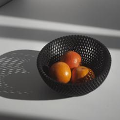 A2.png Download STL file Fruit bowl • 3D print template, Mummy