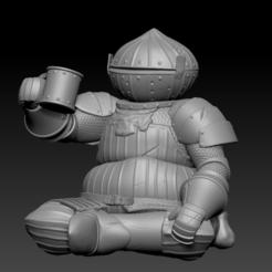 Descargar diseños 3D Almas Oscuras - Siegward de Catarina, UpsideDownGorilla