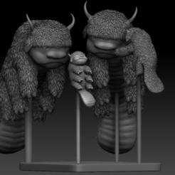 Family01.PNG Télécharger fichier STL Avatar La dernière famille de bisons maîtres de l'air • Design imprimable en 3D, UpsideDownGorilla