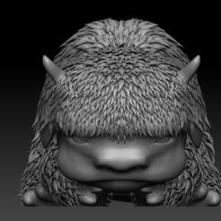 A1.PNG Télécharger fichier OBJ Avatar Le dernier bébé bison maître de l'air • Modèle imprimable en 3D, UpsideDownGorilla