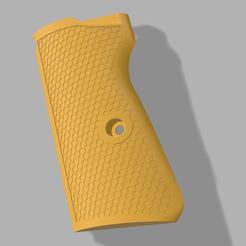 grip kanan add v2.png Download STL file Walther PPK Grip • 3D printable design, Kenichi_T