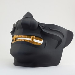 DSC03512.JPG Download STL file Menpo Samurai Oni Mask • Object to 3D print, Kenichi_T