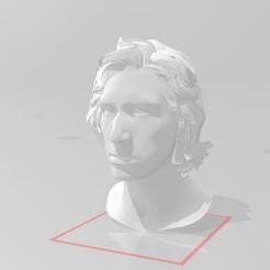 Ben Solo - Kylo Head.jpg Download STL file Star Wars Head Bundle 3 - Kylo Ren Ben Solo • 3D printing object, EwokSquad183