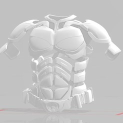 TDK Torso and Beltjpg2000.jpg Download STL file The Dark Knight Inspired Torso Bundle • 3D print object, EwokSquad183