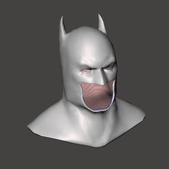 year one cowl.jpg Télécharger fichier STL Offre groupée pour la première année de Batman • Objet pour impression 3D, EwokSquad183