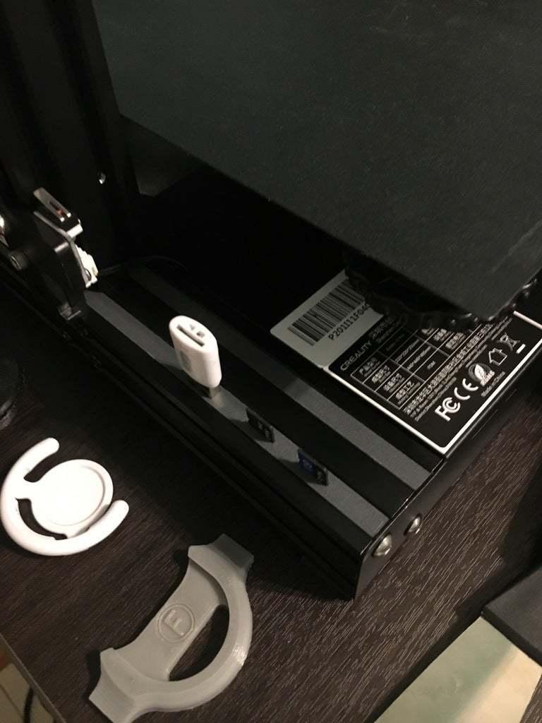 IMG-6022.JPG Télécharger fichier STL gratuit V-SLOT avec carte SD et support USB pour ENDER 3 - par Facu Ricchi • Modèle imprimable en 3D, facuricchi