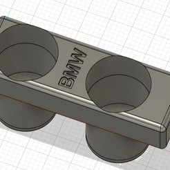 2.jpg Download STL file BMW e30 cup holder • 3D printing template, nkostic1992