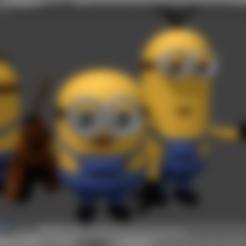 Download free STL file Minions, tomasmajchrovic