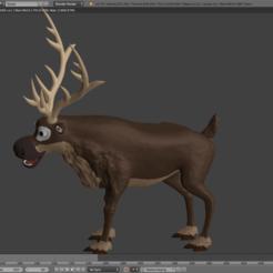 Download free OBJ file Sven • 3D printing template, tomasmajchrovic