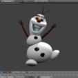 Télécharger fichier 3D gratuit Olaf, tomasmajchrovic