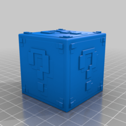 MINECRAFT_lucky_block.png Download free STL file Minecraft lucky block • 3D print model, dj_denzo