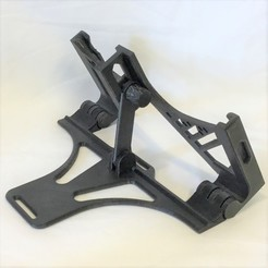 Download 3D printer templates Adjustable iPad Mini 4 & 5 Stand, Master0fNone