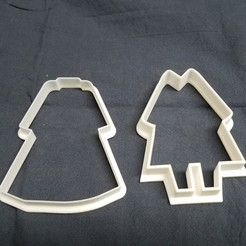 Download free STL file Hanbok cookie cutter • 3D printer object, Master0fNone