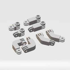 1.jpg Download STL file GoPro Anchorage Kit (All Models) • Design to 3D print, gonzaglobo