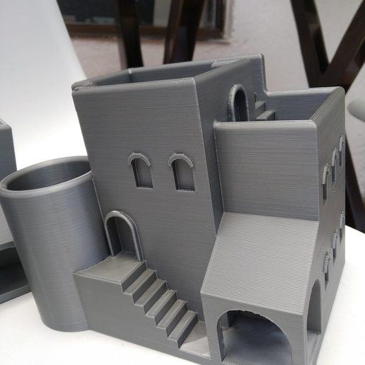 IMG_20200727_120322.jpg Télécharger fichier STL gratuit Jardinière d'intérieur / pot arabe • Plan pour imprimante 3D, 360lab3D
