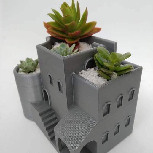 IMG_20200807_152046.jpg Télécharger fichier STL gratuit Jardinière d'intérieur / pot arabe • Plan pour imprimante 3D, 360lab3D