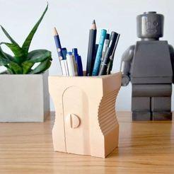 ejemplo.JPG Download STL file Pencil Sharpener • 3D printer template, nicolasodde