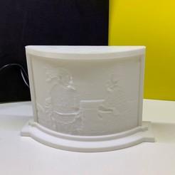 IMG_7060.jpg Télécharger fichier STL gratuit Boîtier en litophane pour la courbe extérieure standard Image Rocks3dp 720 x 540 • Modèle pour impression 3D, HTBROS