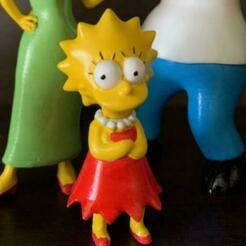 LisaCults1.jpg Télécharger fichier STL Collection Lisa la famille Simpsons • Plan pour impression 3D, HTBROS