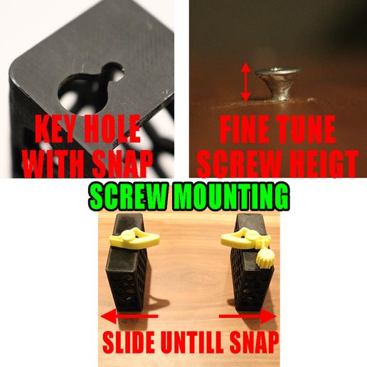 Smart_Clip.png Télécharger fichier STL 4 porte-papier hygiénique à changement rapide + serrure :) • Modèle à imprimer en 3D, PattysLab