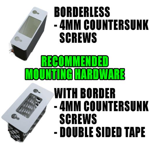 Mounting.png Télécharger fichier STL 4 porte-papier hygiénique à changement rapide + serrure :) • Modèle à imprimer en 3D, PattysLab