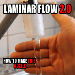 Cults3D_Laminarflow_Revised.png Download free STL file Universal Laminar Flow Nozzle Adapter! • 3D printing object, PattysLab