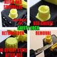 Safety_Lock.png Télécharger fichier STL 4 porte-papier hygiénique à changement rapide + serrure :) • Modèle à imprimer en 3D, PattysLab