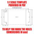 Drill_Template.png Télécharger fichier STL 4 porte-papier hygiénique à changement rapide + serrure :) • Modèle à imprimer en 3D, PattysLab