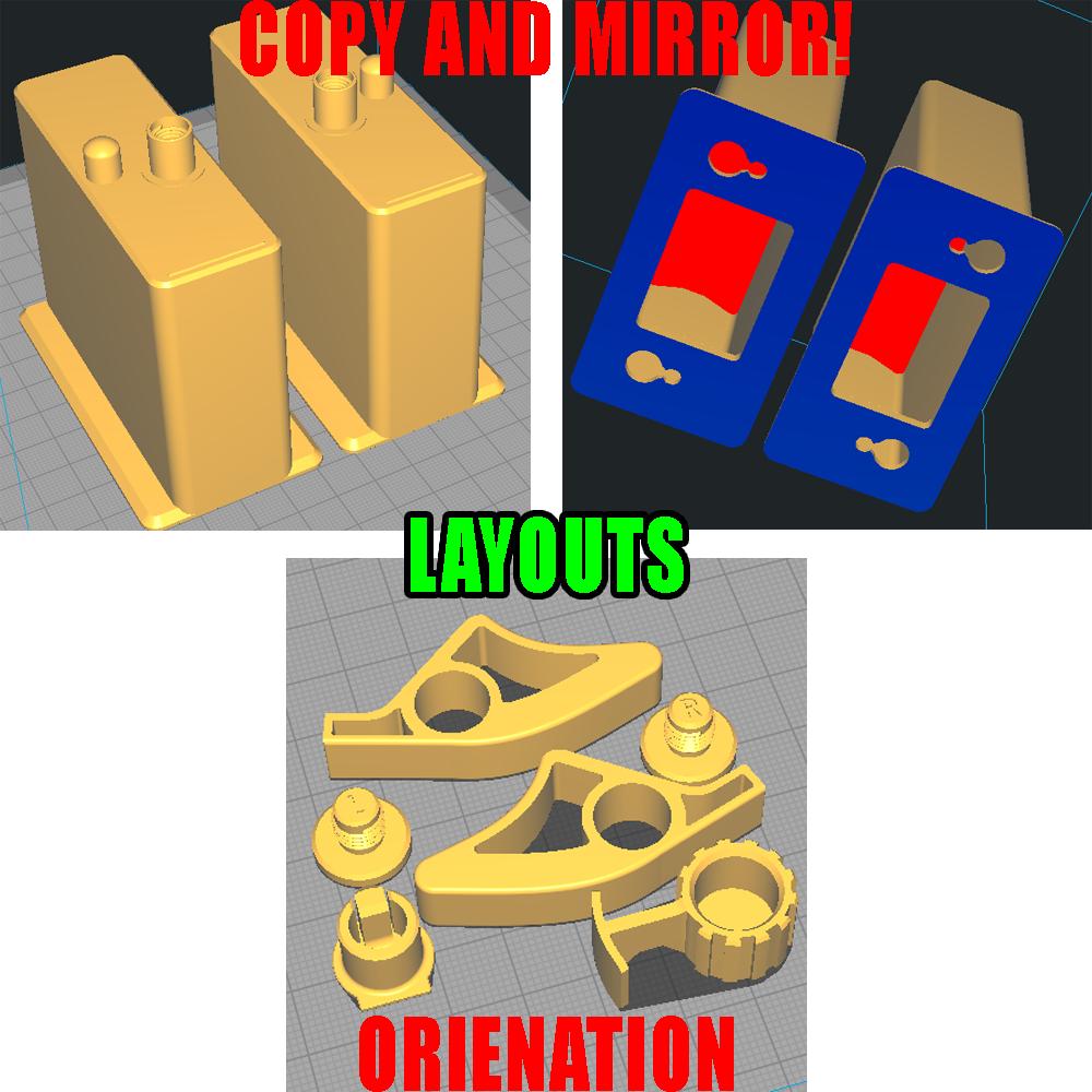 Cura_Layout.png Télécharger fichier STL 4 porte-papier hygiénique à changement rapide + serrure :) • Modèle à imprimer en 3D, PattysLab