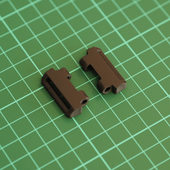 Download 3D printing models Strap Adapter for G-Shock GA1000 to 22mm Nato Zulu, w3de