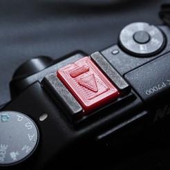 _5060160.JPG Download free STL file Hot Shoe Cover for Camera • Design to 3D print, w3de