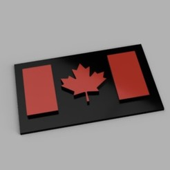 canadian_flag_2020-Aug-17_06-32-13AM-000_CustomizedView17685276179_jpg.jpg Download 3MF file Canadian Flag • 3D printable template, 44airdiver