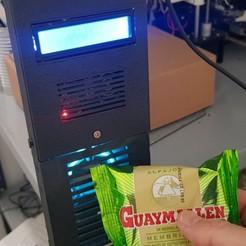 20200719_124429.jpg Télécharger fichier STL Distributeur de bonbons propres Alfajor (Arduino, RFID et SG90 Servo) • Plan pour imprimante 3D, Arg3dModels