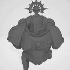 Bust.JPG Télécharger fichier STL gratuit Garçon à viande • Plan à imprimer en 3D, pboar2006