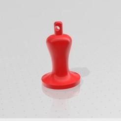 espresso tamper screenshot.jpg Download STL file Espresso Tamper Keychain • 3D print design, Napostam