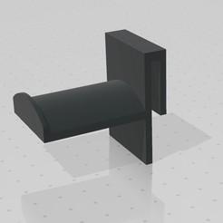 1.jpg Télécharger fichier STL Support pour casque d'écoute • Objet pour impression 3D, Napostam