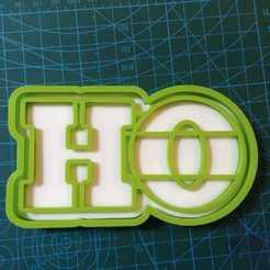 IMG-20201116-WA0006.jpg Télécharger fichier STL moule à biscuit ho ho ho • Objet pour imprimante 3D, manuelrosales