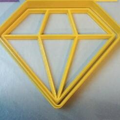 20210118_193318-1.jpg Télécharger fichier STL coupeur de biscuits en diamant • Modèle à imprimer en 3D, manuelrosales