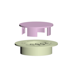 conjunto.png Download free 3MF file Desk grommet • 3D printer design, epromd
