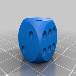 Dice.png Télécharger fichier STL gratuit Dice • Design pour imprimante 3D, madebotix