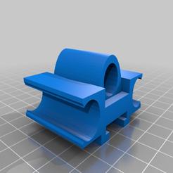Nerf_Penlight_Mount.png Download free STL file Nerf Penlight Mount • 3D printing object, madebotix