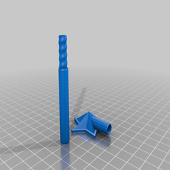 Download free STL file Salt and Pepper Wand Shaker • Object to 3D print, madebotix