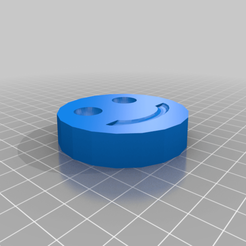 Smiley-face_Coaster.png Télécharger fichier STL gratuit Sous-verre à visage souriant • Modèle imprimable en 3D, madebotix