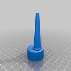 Easy_Pour_Bottle_Lid-Re_uploaded.png Download free STL file Easy Pour Bottle Lid-Re Upload • 3D printing template, madebotix