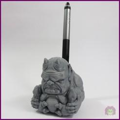 DEMONIO_LAPIZ.jpg Télécharger fichier STL DEMON_PEN • Design pour imprimante 3D, CGOMEZ_estudio